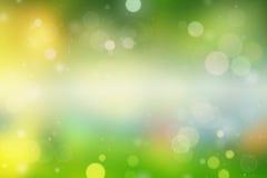 Été ou tache floue coloré de backgound de ressort Image stock