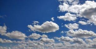 Été Skys Image libre de droits