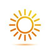 Été Sun Logo Design Template Photo libre de droits