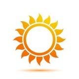 Été Sun Logo Design Template Image libre de droits
