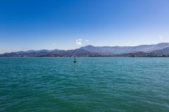 Été Sunny Seascape photos libres de droits