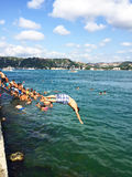 Été sur Bosphorus Photographie stock