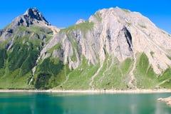 Été sur des Alpes Image libre de droits