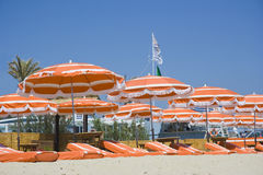 Été sur la plage Photographie stock