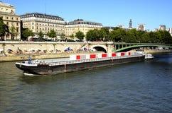 Été sur la Seine photo libre de droits