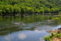 Été sur le fleuve Delaware Easton Pa Photographie stock libre de droits