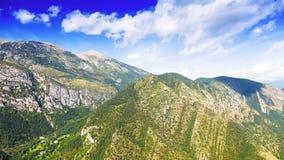 été Ukraine de montagnes d'horizontal de la Crimée Images stock