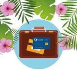 Été, voyage et vacances Image libre de droits
