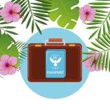 Été, voyage et vacances Photo stock