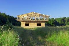 Établir une maison neuve Photographie stock