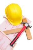 Établissant une maison neuve? Image stock