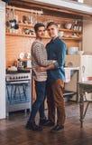 Établissant une vie de l'amour ensemble Photo libre de droits