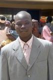 Établissement d'un chef habituel dans Burkina Faso Images stock