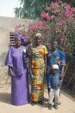 Établissement d'un chef habituel dans Burkina Faso Images libres de droits