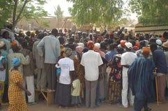 Établissement d'un chef habituel dans Burkina Faso Photos stock