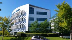 Établissement du bâtiment moderne d'architecture de tir banque de vidéos