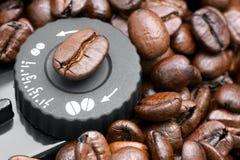 Établissement du café de morcellement image stock