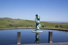 Établissement vinicole d'Artesa dans Napa Valley, la Californie Photo stock