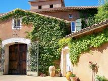 Établissement vinicole d'Italianate la Californie   Images libres de droits