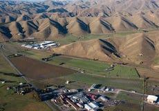 Établissement vinicole dans Marlborough, Nouvelle Zélande Photo libre de droits