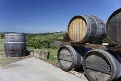 Établissement vinicole de la Toscane Photo libre de droits