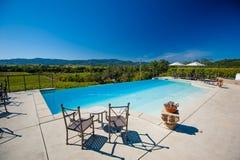 Établissement vinicole de Napa Valley - Napa Valley, la Californie Photographie stock libre de droits