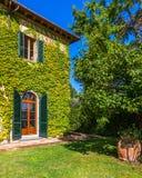 Établissement vinicole toscan Image libre de droits