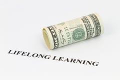 Établissez la formation permanente comme décision économique futée Photographie stock libre de droits