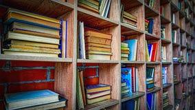Étagère, étagère, cru, librairie, bibliothèque publique, bibliothèques, public de York, pixabay photos libres de droits