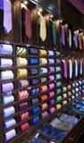 Étagère de cravate photo stock