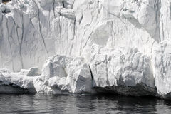 Étagère de glace antarctique photo stock