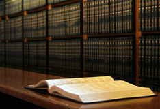 Étagère de livre Photos libres de droits