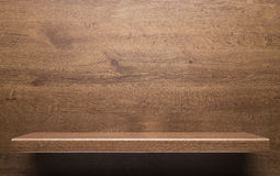 Étagère en bois image stock