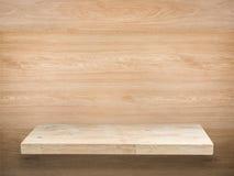 Étagère en bois image libre de droits