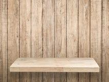 Étagère en bois photos stock