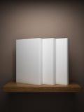 Étagère sur le mur avec des livres illustration de vecteur