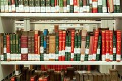 Étagères à livres Photo stock
