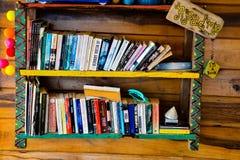 Étagères à livres images stock