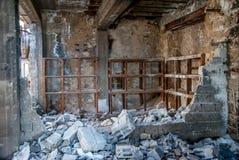 Étagères abandonnées Image libre de droits