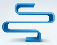 étagères du vecteur 3d Image libre de droits