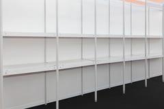 étagères vides Image libre de droits