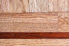 Étage de bois dur Photo libre de droits