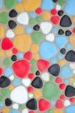 Étage de cailloux de couleur Photos stock