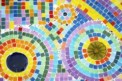 Étage de mosaïque coloré Images stock