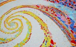 Étage de mosaïque coloré Photographie stock