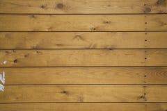 Étage de panneaux en bois Photos libres de droits