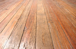 Étage en bois Photographie stock