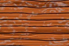 Étage en bois illustration stock