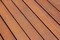 Étage en bois Photographie stock libre de droits