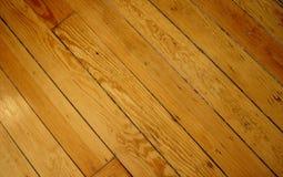 Étage en bois Image stock